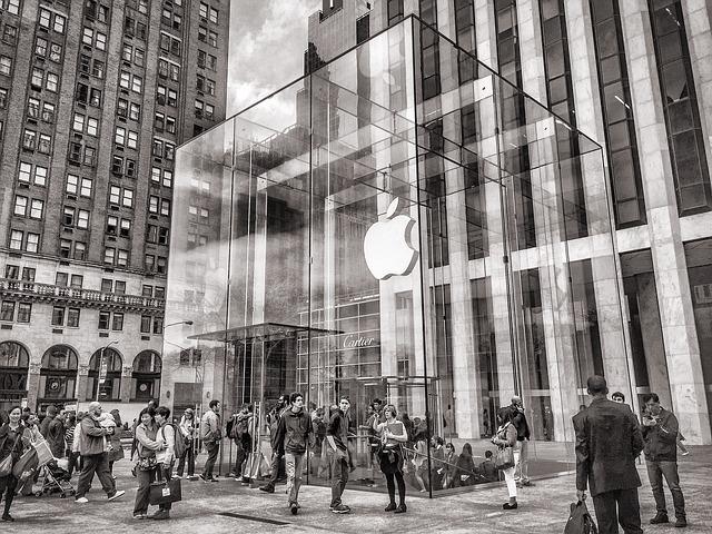 Apple社の表紙