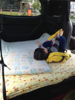 車中泊写真2