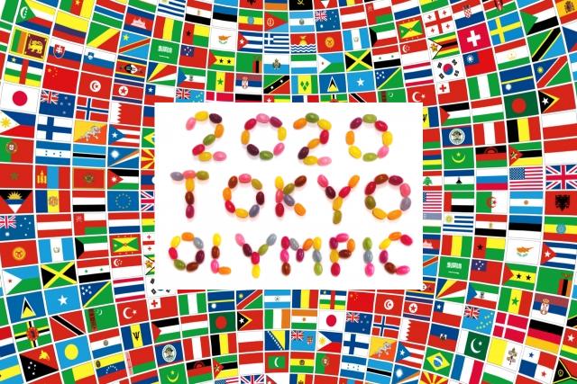 オリンピックのチケット表紙